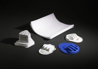Tiefziehteil aus Kunststoffschaum Form Plastic Miederhoff